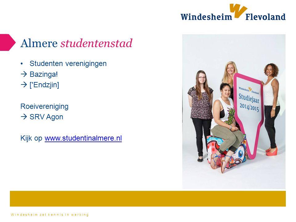 Almere studentenstad Studenten verenigingen Bazinga! [ Endzjin]